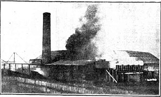 Toolooa - Fire burns down Skyring's Mill, 1930