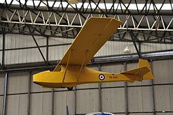 Kirby Cadet TX.1 im Yorkshire Air Museum