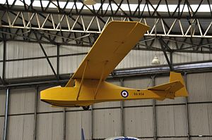 Slingsby Cadet at Yorkshire Air Museum (8344).jpg