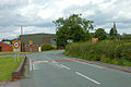 Slow down, you are now entering Hixon - geograph.org.uk - 1441729.jpg