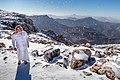 Snowing at Jabal Al Jais Mountains.jpg