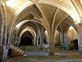 Soissons (02), abbaye Saint-Jean-des-Vignes, cellier, vaisseau ouest, vue vers le nord 2.jpg