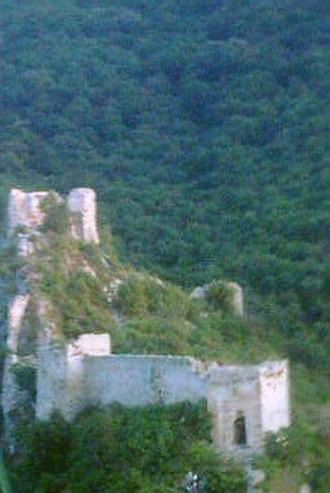 Soko Grad (Sokobanja) - Towers of the upper town