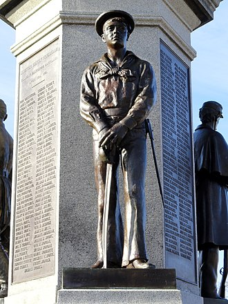 William Rudolf O'Donovan - Image: Soldiers and Sailors Monument sculpture Lawrence, MA DSC03565