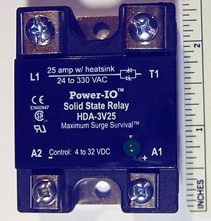 Solid-state relay - Image: Solid state relays