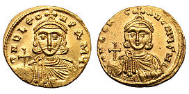 Solidus-Leo III and Constantine V-sb1504.jpg