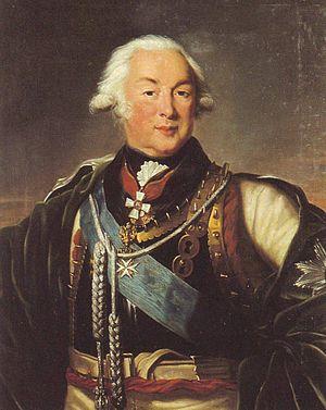 Ivan Saltykov - Field Marshal Count Ivan Petrovich Saltykov