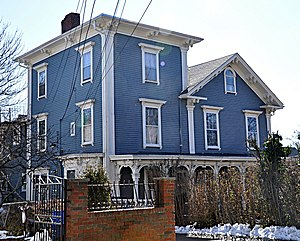 Alexander Foster House - Image: Somerville MA Alexander Foster House