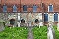 Southern wall of All Saints Church, Carshalton.jpg