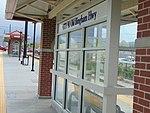Southwest at passenger shelter at 4800 W Old Bingham Hwy station, Apr 15.jpg