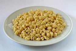 Un piatto di Spatzle al formaggio