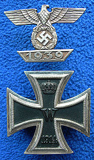 Clasp to the Iron Cross