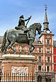 Spain-33 - Felipe III in Plaza Mayor (6858215317).jpg