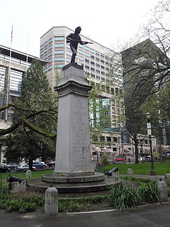 <i>Spanish–American War Soldiers Monument</i>