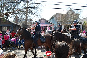 Mardi Gras celebrations in the Spanish Town section of Baton Rouge Spanish Town Mardi Gras 2015 - 15922509443.jpg