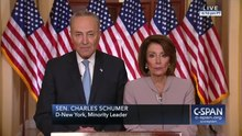 File:Speaker Nancy Pelosi and Senator Chuck Schumer respond to President Trump (C-SPAN).webm