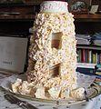 Spettekaka cake. Taken at 70th birthday party in Osby, Sweden.jpg