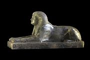 Sphinx dedicated to Ita daugther of Amenemhat II-AO 13075