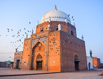 Suhrawardiyya - The Shrine of Bahauddin Zakariya, in Multan, Pakistan, is a major Suhrawardiyya shrine in the Subcontinent.