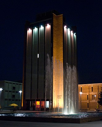Western Michigan University - Sprau Tower on WMU's campus