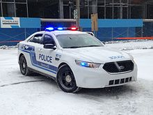 Ford Police Interceptor Sedan - SPVM