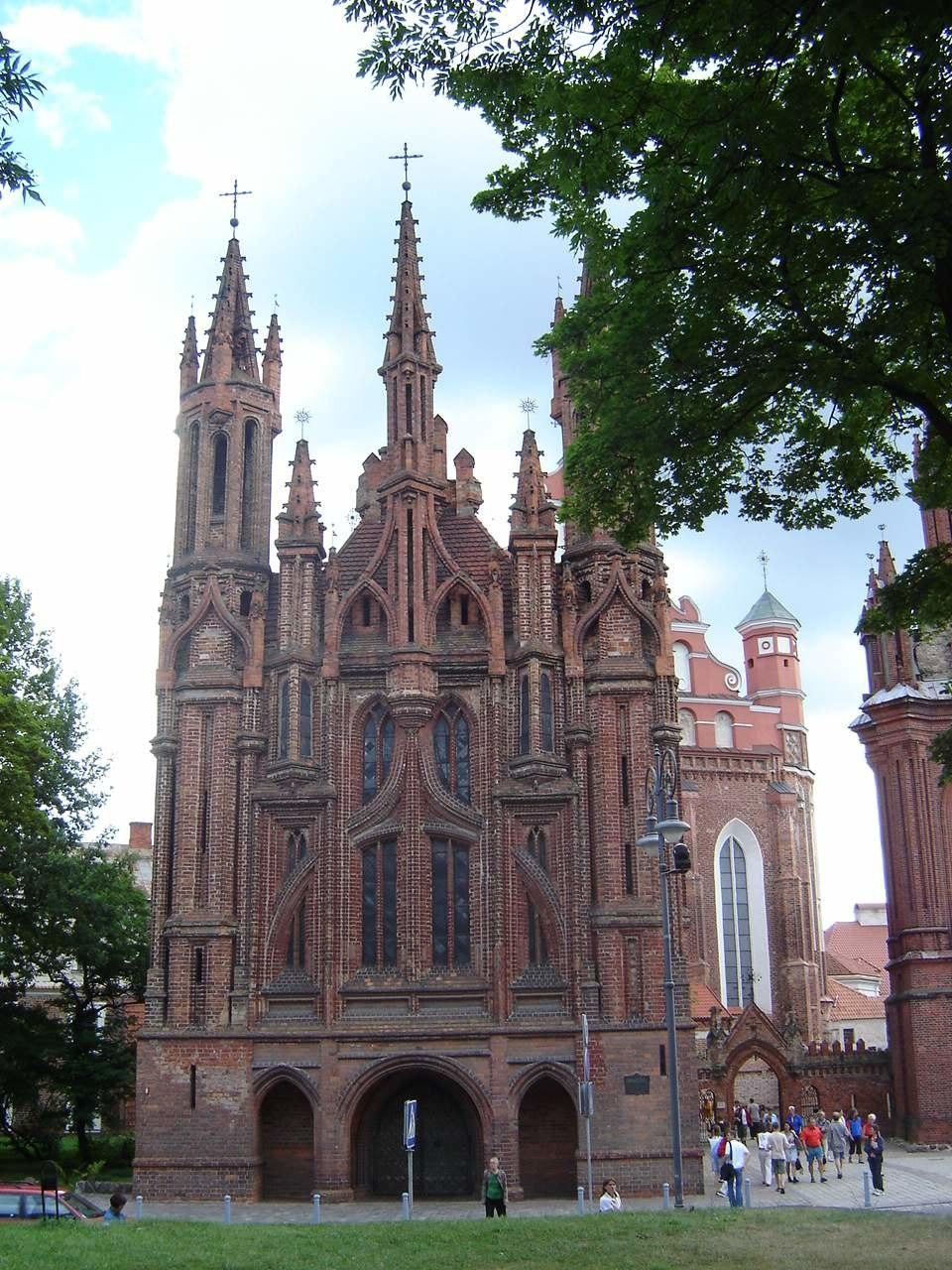 St. Anne's Church in Vilnius 2005