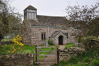 Llangua village in United Kingdom