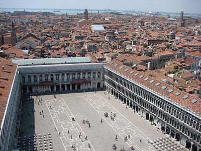 Venice and St. Mark's Square from the Campanile