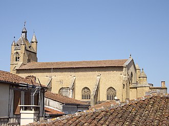 Mirande - Image: St. Mary's Cathedral, Mirande, Gers, France