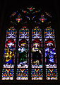 St. Mary's Cathedral Basilica of the Assumption (Covington, Kentucky), interior, stained glass, the Apostles 2.jpg
