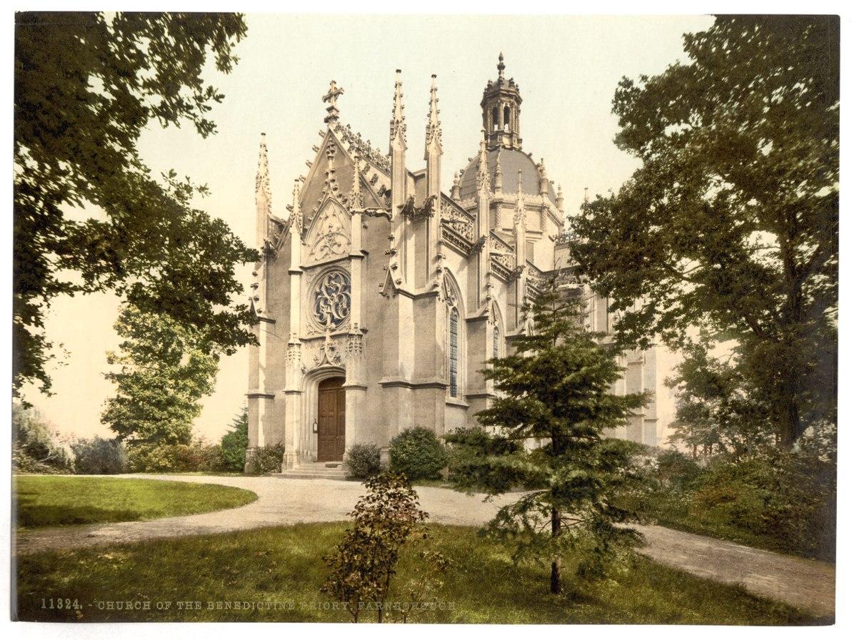Abbaye Saint-Michel de Farnborough — Wikipédia