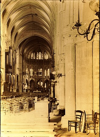 Abbey of Saint-Remi - St. Remi, Interior.