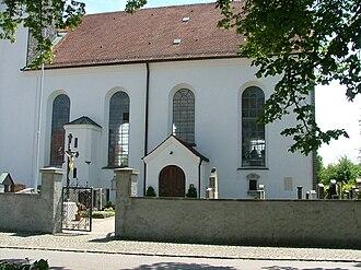Aitrang - Image: St. Ulrich Aitrang 1