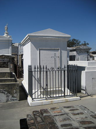 Paul Morphy - Morphy's crypt in Saint Louis Cemetery No. 1