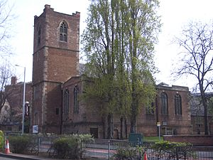 St Nicholas' Church, Nottingham - St. Nicholas' Church Nottingham