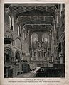 St Bartholomew's Priory, London; the interior looking toward Wellcome V0013132.jpg