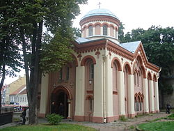 St Parasceve Orthodox Church in Vilnius1.jpg