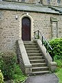 St Paul's Parish Church Scotforth, Doorway - geograph.org.uk - 896862.jpg