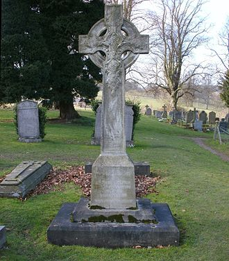 Spencer Cavendish, 8th Duke of Devonshire - The Duke of Devonshire's grave in St Peter's Churchyard, Edensor