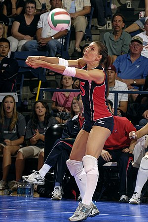 Stacy Sykora, the designated libero for the U....