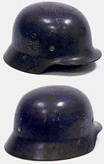 German Helmet Apple Green Paint