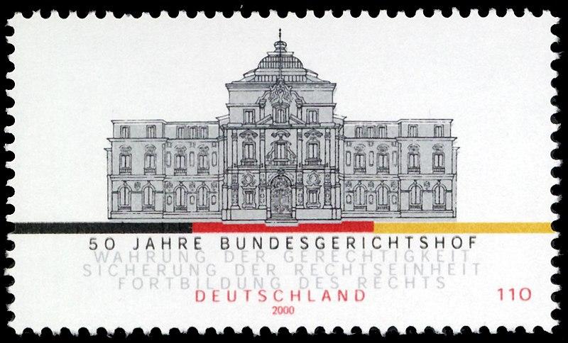 File:Stamp Germany 2000 MiNr2137 Bundesgerichtshof.jpg