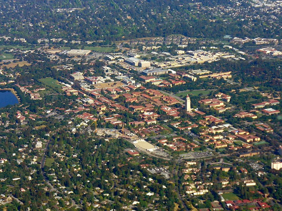 Stanford Campus Aerial Photo