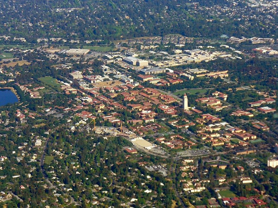 Stanford Campus Aerial Photo