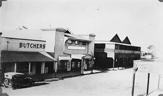 Proserpine, Queensland - Main Street, Proserpine in the 1930s