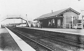 Lockyer Valley Region - Forest Hill railway station, 1914