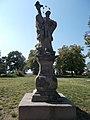 Statue of John of Nepomuk. - Csokonai Grove, Tihany.JPG