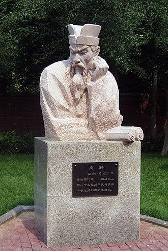 Shang Yang - Image: Statue of Shang Yang