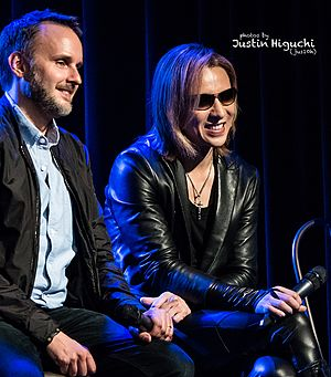 Stephen Kijak - Stephen Kijak with Yoshiki in 2016