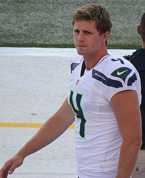 Steven Hauschka - Hauschka in the 2012 preseason as a member of the Seattle Seahawks